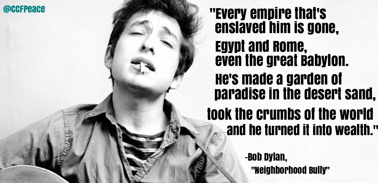 Bob Dylan, 'Neighborhood Bully'