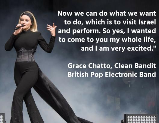 Grace Chatto, Clean Bandit